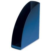 5 Star Office Magazine Rack File Low Sill W80xD254xH310mm Blue