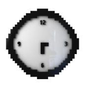 Mustard Pixel Time Clock
