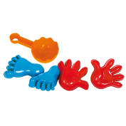 Gowi Sandmould Hands and Feet Sand Toy Set