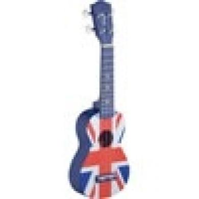 Soprano Ukulele UK Flag with Bag
