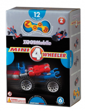 ZOOB Mini 4 Wheeler Wheels 9012
