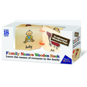 Traditional Wooden Toys Family Names Wooden Book Great Gizmos