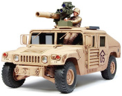 M1046 Humvee TOW Missile Carrier - 1:35 Scale Military - Tamiya