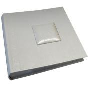 """Kenro PL201 Pearl Heart Wedding 200 6x4"""" White Photo Album"""