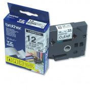 Brother TZe 131. Laminated tape. black on clear. Roll (1. 2 cm x 8 m). 1 roll(s).