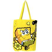 SpongeBob Karate Tote Bag