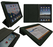 iTALKonline 19335 PadWear Executive Green Wallet Case With TRI-FOLD SMART TILT For Apple iPad 2
