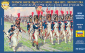 Zvezda - French Imperial Old Guards. Grenadiers 1804-1815 - 1:72 Scale 8030