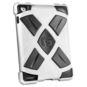 G-FORM Extreme iPad Clip On Case, Silver Case/Black RPT