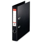 Esselte A4 LA File PVC 50mm Black