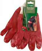 Kingfisher GGHDRR Heavy Duty Red Rubber Gloves