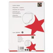 5 Star Office Labels Copier 10 per Sheet 105x58mm White [1000 Labels]