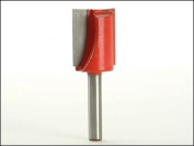 Faithfull Router Bit Tungsten Carbide Two Flute 20.00 mm. 1/4in Shank