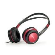 ENERGY SISTEM Energy E510 Ruby Red DJ Style Headphones, Red 346011.