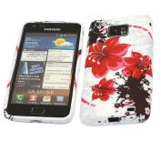 iTALKonline 21237 ProGel Printed Oriental Flowers Skin Case - for Samsung i9100 Galaxy S II S2