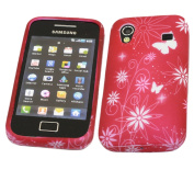 iTALKonline 21409 ProGel Printed ButterFly Skin Case - for Samsung S5830 Galaxy Ace