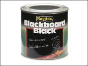Rustins Quick Dry Blackboard Black 125ml