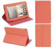 PadWear Leather Executive LuxFolio Pink Wallet Case With SMART TILT For Amazon Kindle Fire Tablet