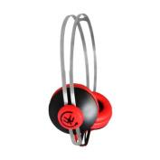 Clipz On Ear Headphones RedBlack