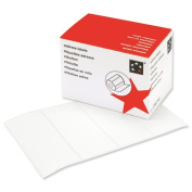 5 Star Address Labels 89 x 36mm On Continuous Roll [250 Labels]