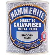 Hammerite 5097051 Direct To Galvanised 750ml - Silver