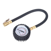 TST/PG6 Tyre Pressure Gauge with Clip-On Chuck