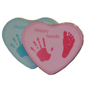 Xplory Happy Hands Hand and Footprint Tin - Blue