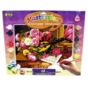 KSG Senior Painting By Numbers Romantic Bouquet