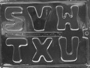 Home Chocolate Factory Large Letters S-U Chocolate Mould