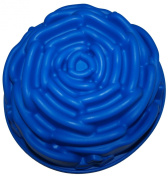 Large 23cm Silicone Rose Pan/Flower Cake Tin/Jelly Mould/Form FREE POSTAGE