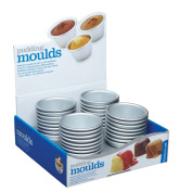 Kitchen Craft Anodised Mini Pudding Mould, 7.5cm