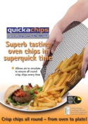 Quickachips, multipurpose baking tray - avoid turning food over - croissants, pizza, chips etc