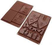 Birkmann 250505 Silicone Mould Gingerbread House
