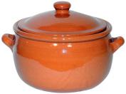 Amazing Cookware 3 Litre Natural Terracotta Stew Pot