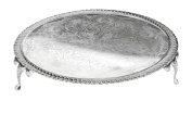 Cake Platter Serving Stand Tray Silver Plated British Made