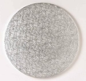 "Culpitt 12"" inch Round Silver Cake Drum board 13mm Thick"