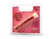 Edible Glitter - Edible Pink Hearts - 2g
