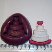 Silicone Mould Wedding Cake Cake & Cupcake Topper
