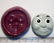 Silicone Mould Thomas The Tank Engine Face Icing Cake Cupcake Decoration