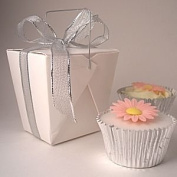 Takeaway Style cupcake boxes - Medium - pack of 10