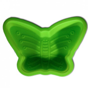 """""""We Can Cook"""" Children's Green Butterfly Silicone Mould for Baking and Jelly by Royle Kids"""