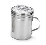 10 oz. Stainless Steel Flour Icing Sugar Chocolate Cocoa Sifter Dredger Shaker H159