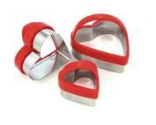 Eddingtons Heart Cutters, Set of 3