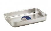 Heavy Duty Aluminium Bakeware Roast Roasting Baking Tray / Pan 32 x 21 x 5cm
