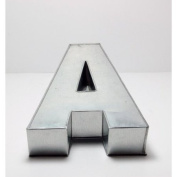 "36cm ALPHABET ""A"" BIRTHDAY WEDDING ANIVERSARY CAKE TIN"