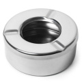 Windproof Ashtray Stainless Steel | Ashtray with Lid