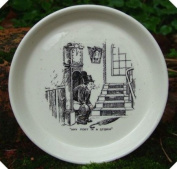 c1940s Comic Risque Hand Painted Ashtray Any Port