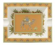 Villeroy & Boch 1047324090 Samarkand Ashtray, Mandarin