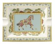 Villeroy & Boch 1047304090 Samarkand Ashtray, Aquamarin