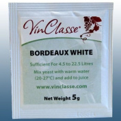 Home Brew & Wine Making - VinClasse® Bordeaux White Wine Yeast - 5 Gramme Sachet